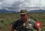 Image of Major Fiacco of US Army discussing sniper training Vietnam, 1967, second 29 stock footage video 65675021014