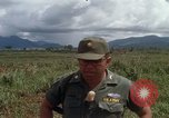 Image of Major Fiacco of US Army discussing sniper training Vietnam, 1967, second 30 stock footage video 65675021014