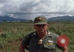 Image of Major Fiacco of US Army discussing sniper training Vietnam, 1967, second 32 stock footage video 65675021014