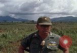 Image of Major Fiacco of US Army discussing sniper training Vietnam, 1967, second 38 stock footage video 65675021014