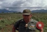 Image of Major Fiacco of US Army discussing sniper training Vietnam, 1967, second 39 stock footage video 65675021014