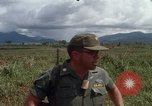 Image of Major Fiacco of US Army discussing sniper training Vietnam, 1967, second 41 stock footage video 65675021014