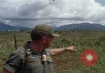 Image of Major Fiacco of US Army discussing sniper training Vietnam, 1967, second 42 stock footage video 65675021014