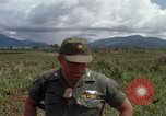 Image of Major Fiacco of US Army discussing sniper training Vietnam, 1967, second 43 stock footage video 65675021014
