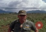 Image of Major Fiacco of US Army discussing sniper training Vietnam, 1967, second 44 stock footage video 65675021014