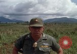 Image of Major Fiacco of US Army discussing sniper training Vietnam, 1967, second 45 stock footage video 65675021014