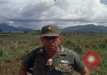 Image of Major Fiacco of US Army discussing sniper training Vietnam, 1967, second 48 stock footage video 65675021014