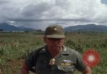 Image of Major Fiacco of US Army discussing sniper training Vietnam, 1967, second 52 stock footage video 65675021014