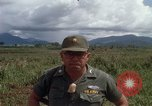Image of Major Fiacco of US Army discussing sniper training Vietnam, 1967, second 53 stock footage video 65675021014