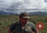 Image of Major Fiacco of US Army discussing sniper training Vietnam, 1967, second 55 stock footage video 65675021014