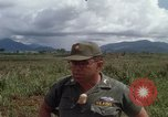 Image of Major Fiacco of US Army discussing sniper training Vietnam, 1967, second 56 stock footage video 65675021014