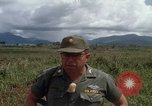Image of Major Fiacco of US Army discussing sniper training Vietnam, 1967, second 57 stock footage video 65675021014