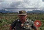 Image of Major Fiacco of US Army discussing sniper training Vietnam, 1967, second 59 stock footage video 65675021014