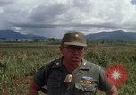 Image of Major Fiacco of US Army discussing sniper training Vietnam, 1967, second 60 stock footage video 65675021014