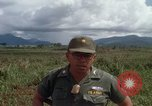 Image of Major Fiacco of US Army discussing sniper training Vietnam, 1967, second 61 stock footage video 65675021014