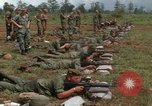 Image of Fourth Infantry Division Indoctrination Vietnam, 1967, second 44 stock footage video 65675021016