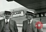Image of Passengers in airplane Cleveland Ohio USA, 1927, second 5 stock footage video 65675021022