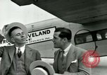 Image of Passengers in airplane Cleveland Ohio USA, 1927, second 8 stock footage video 65675021022