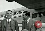Image of Passengers in airplane Cleveland Ohio USA, 1927, second 9 stock footage video 65675021022