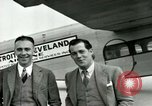 Image of Passengers in airplane Cleveland Ohio USA, 1927, second 13 stock footage video 65675021022