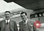 Image of Passengers in airplane Cleveland Ohio USA, 1927, second 14 stock footage video 65675021022