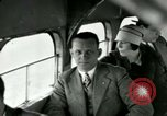 Image of Passengers in airplane Cleveland Ohio USA, 1927, second 15 stock footage video 65675021022