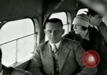 Image of Passengers in airplane Cleveland Ohio USA, 1927, second 16 stock footage video 65675021022