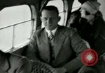 Image of Passengers in airplane Cleveland Ohio USA, 1927, second 21 stock footage video 65675021022