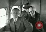 Image of Passengers in airplane Cleveland Ohio USA, 1927, second 60 stock footage video 65675021022