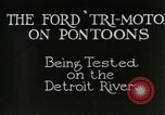 Image of Ford Tri Motor Detroit Michigan USA, 1927, second 3 stock footage video 65675021027