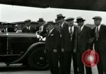 Image of Ford Tri Motor plane and Lincoln cars United States USA, 1928, second 44 stock footage video 65675021030