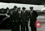 Image of Ford Tri Motor plane and Lincoln cars United States USA, 1928, second 46 stock footage video 65675021030