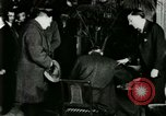 Image of Mr Henry Ford and Lord Northcliffe Detroit Michigan USA, 1917, second 35 stock footage video 65675021031