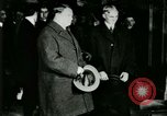 Image of Mr Henry Ford and Lord Northcliffe Detroit Michigan USA, 1917, second 54 stock footage video 65675021031