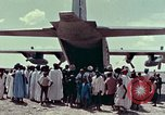 Image of MAC relief work and Air Force One United States USA, 1978, second 62 stock footage video 65675021086