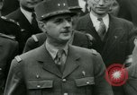 Image of General Charles De Gaulle Paris France, 1944, second 62 stock footage video 65675021093