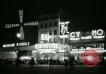 Image of Moulin Rouge Paris France, 1956, second 32 stock footage video 65675021098