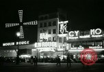Image of Moulin Rouge Paris France, 1956, second 34 stock footage video 65675021098