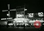 Image of Moulin Rouge Paris France, 1956, second 37 stock footage video 65675021098