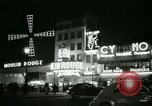 Image of Moulin Rouge Paris France, 1956, second 41 stock footage video 65675021098