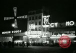 Image of Moulin Rouge Paris France, 1956, second 42 stock footage video 65675021098