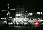 Image of Moulin Rouge Paris France, 1956, second 43 stock footage video 65675021098