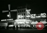 Image of Moulin Rouge Paris France, 1956, second 46 stock footage video 65675021098
