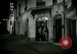 Image of Men and women at bar and hotel Paris France, 1956, second 14 stock footage video 65675021102