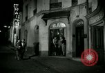 Image of Men and women at bar and hotel Paris France, 1956, second 23 stock footage video 65675021102