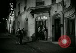 Image of Men and women at bar and hotel Paris France, 1956, second 24 stock footage video 65675021102
