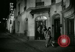 Image of Men and women at bar and hotel Paris France, 1956, second 27 stock footage video 65675021102