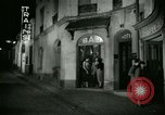 Image of Men and women at bar and hotel Paris France, 1956, second 28 stock footage video 65675021102