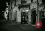 Image of Men and women at bar and hotel Paris France, 1956, second 29 stock footage video 65675021102
