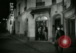 Image of Men and women at bar and hotel Paris France, 1956, second 30 stock footage video 65675021102